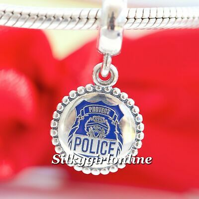 Authentic PANDORA Engraved Police Charm ENG791169_54