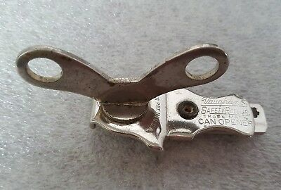 Vintage Vaughan's Safety Roll Jr. Trademark Can Opener Made in the U.S.A.