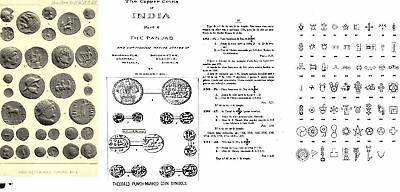 DVD 340 books on coins of India Gupta Mughal EIC Delhi Paisa rupia punch fanam
