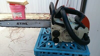 Stihl 019T Chainsaw Top Handle Climbing Arborist Very Good Condition No Reserve