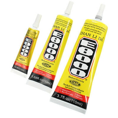 E8000 Glue Multi Purpose Clear Self Leveling Acrylic Adhesive Shoes Jewelry DIY