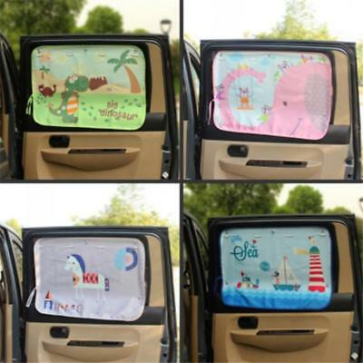 1Pcs Kids Children Car Sunshade Blocker Rear Window UV Mesh Sun Shades Blind LH