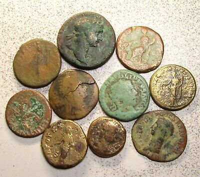 Lot of 10 Roman Imperial & Provincial Coins