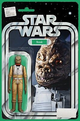 Star Wars #33 Action Figure Variant - Bossk - JTC Exclusive