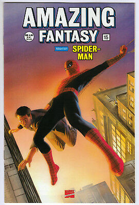 AMAZING FANTASY #15 *GERMAN VARIANT* Alex Ross cover 1st Spider-Man MARVEL 1999