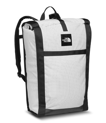 c9059cc33 THE NORTH FACE Homestead Roadsoda Pack - White & Black Ripstop  Backpack/Cooler