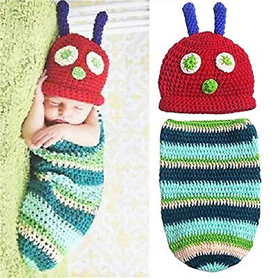 Baby Boy Girl Knit Clothes Newborn Photo Crochet Costume Photography Prop Gift