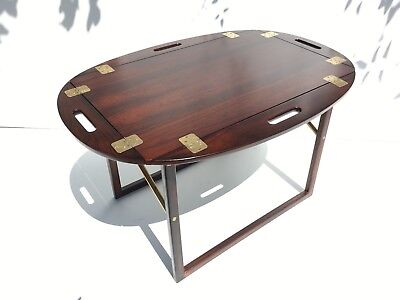 Circa 1960s Danish Rosewood Tray / Side / End / Coffee Table - Svend Langkilde