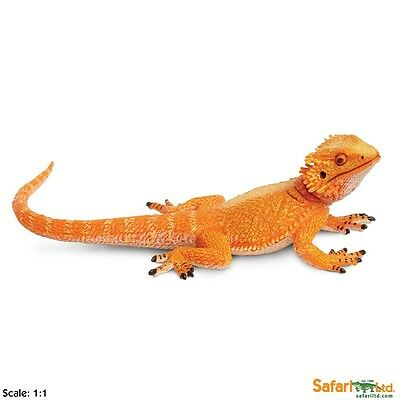 Bearded Dragon Incredible Creatures Figure Safari Ltd NEW Toys Educational Kids
