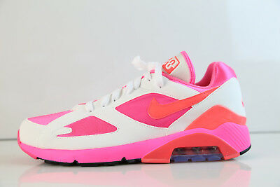 newest collection 7d84e b296f Nike Air Max 180 CDG Comme Des Garcons White Laser Pink Solar AO4641-600 8