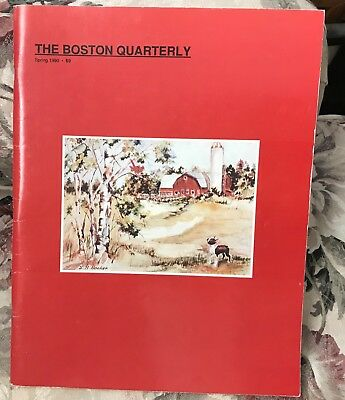 The Boston Quarterly Spring 1990 Boston Terrier Dog Magazine