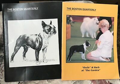 The Boston Quarterly Spring & Summer 2000 ~ Boston Terrier Dog Magazine