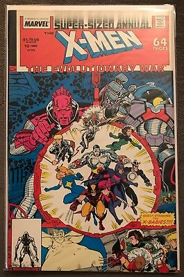 X Men Annual 12 VF 1988 Marvel Comics Evolutionary War