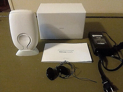 Iluminage Precise Touch Hair Reduction System Orig. Box/Charger/Manual/Powers On