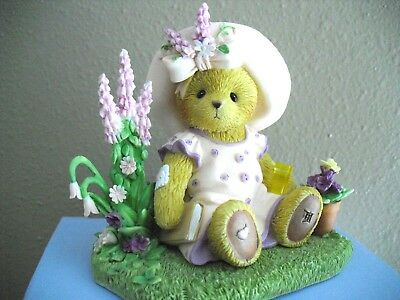 "Cherished Teddies ""Happiness Begins In The Garden"""