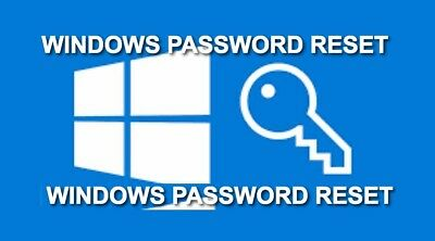 Windows 10 Password Reset Recovery BOOTABLE USB/LIVECD Easy to Use DOWNLOAD ONLY