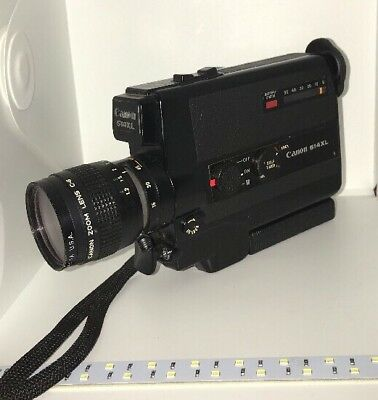 CANON 514XL super8 movie camera Used But Working Condition Tested