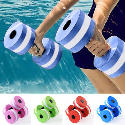 Water Aerobics Aquatic Dumbbell Yoga Barbell Exercise Fitness Equipment AU STOCK