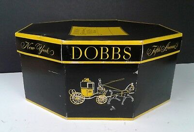 Vintage Dobbs Hats Fifth Avenue New York Hat Box Only