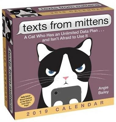 Texts from Mittens the Cat 2019 Day-To-Day Calendar (Calendar)