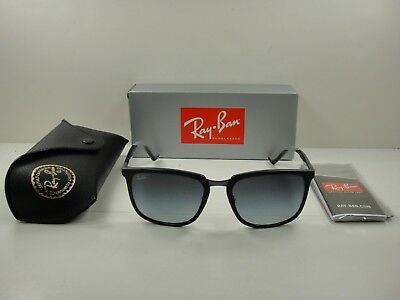8f943746d2 Authentic Ray-Ban Sunglasses Rb4303 601 8G Black Brown grey Gradient Lens  57Mm