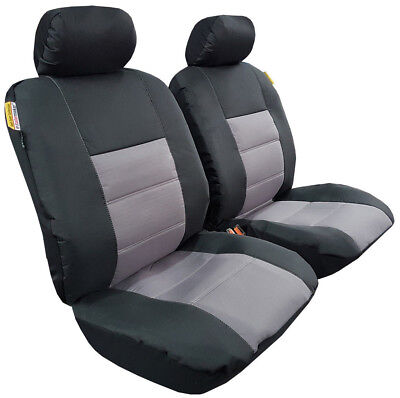 Waterproof Canvas Auto Car Seat Covers Front For Toyota Hilux Dual Cab SR SR5