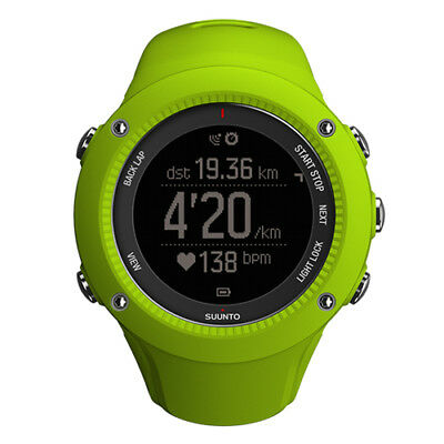 Suunto Ambit3 Run GPS Watch (Lime) (AUST STK)
