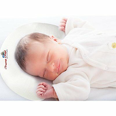 Baby Pillow For Newborns To Prevent Flat Head Syndrome (Plagiocephaly) And Over.
