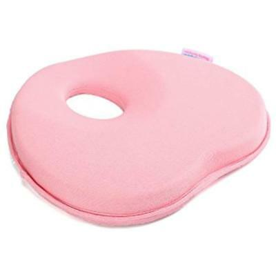 Baby Head Shaping Pillow Newborn Memory Foam Pillow, Flat Syndrome Prevention, &