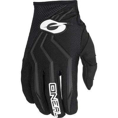 NEW Oneal 2019 MX Gear Element Black Dirt Bike BMX MTB Motocross Gloves Set