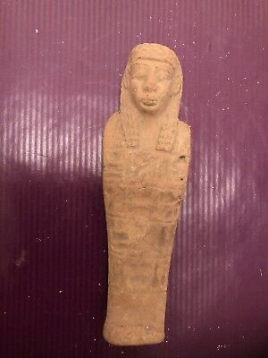 Rare-Ancient-Authentic-Egyptian Faeince-Ushabti-Shabti-600BC