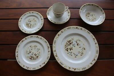 Royal Doulton Rare Mandalay Fine China Dinner Set for 6 [36 pieces] As New