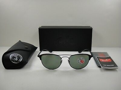 4eba51a33d Ray-Ban Polarized Sunglasses Rb3596 186 9A Black Frame green Classic Lens  54Mm