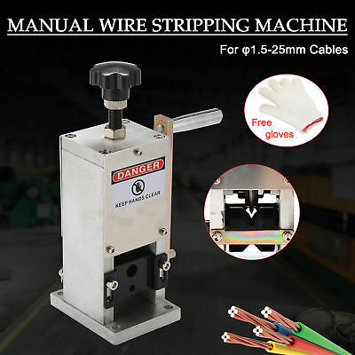 Wire Stripping Machine Portable Scrap Cable Stripper for Scrap Copper Recycling.