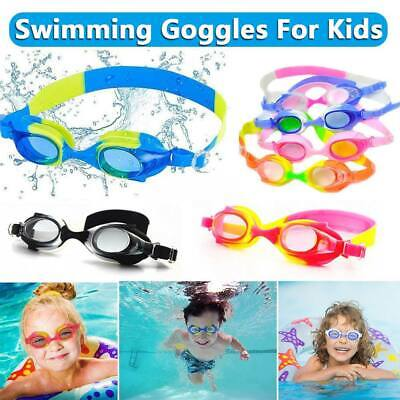 Anti Fog & UV Swimming Goggles Silicone for Children Boys Girls Kid Junior Youth