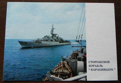 Italy destroyer Carabiniere