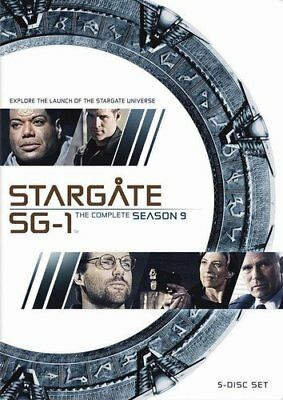 STARGATE SG-1: SEASON 9 Ben Browder [2010] [English] [DVD]