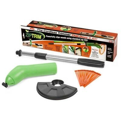 Portable Zip Ties Garden Grass Trimmer Cordless Trim Strimmer With Easy Edge new