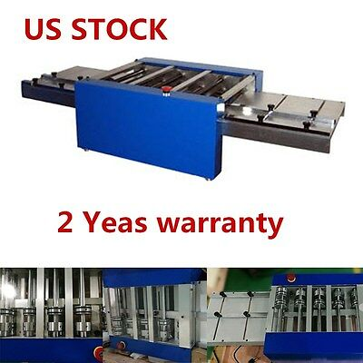 US Stock 110V Automatic Metal channel Letter Flanger Machine Flang Right Angle