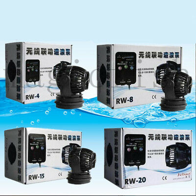 Jebao RW-4 RW-8 RW-15 RW-20 Wave Maker Pump Aquarium Wave Making with Controller