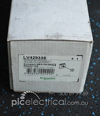 New in Box Schneider Extended Rotary Handle LV429338.
