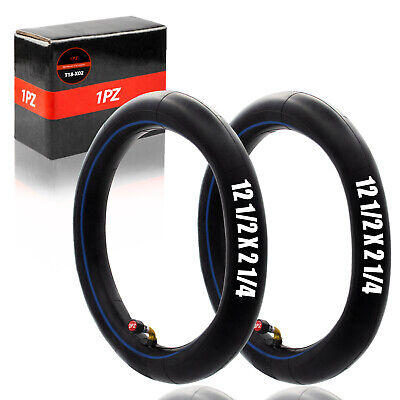 1X Rubber 12-1//2*1.75*2-1//4 Curved US Nozzle Inner Tube For Folding Bike Bicycle