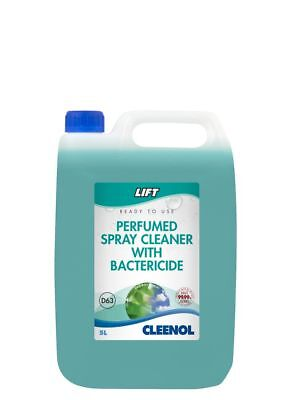 Lift Perfumed Spray Cleaner With Bactericide D63 - 5 Litre - Lift - 053242X5