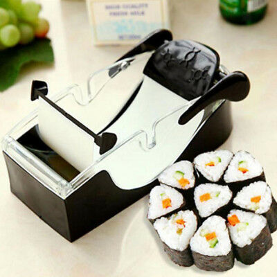 DIY Easy Kitchen Perfect Magic Roll Sushi maker Cutter Roller Machine Gadget