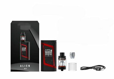 For Smok Alien 220w TC Starter Kit With TFV8 Baby Beast Tank 3ML OLED Display