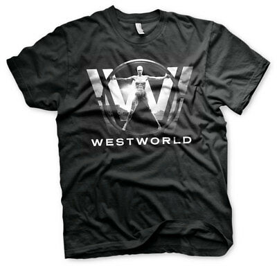Black Officially Licensed Westworld Poster Hoodie S-XXL Sizes
