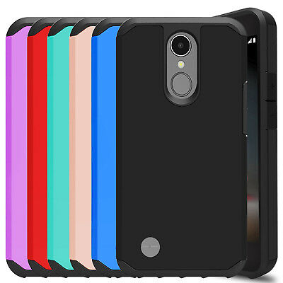 For LG Aristo 2/2 Plus/Zone 4/Tribute Dynasty Hard Case Cover + Screen Protector