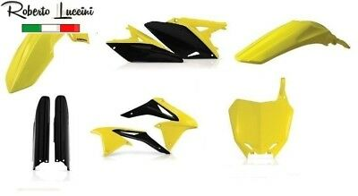 Suzuki Plastik Kit Satz FULL Komplett RMZ 250 Replik 2017 Acerbis Made in Italy