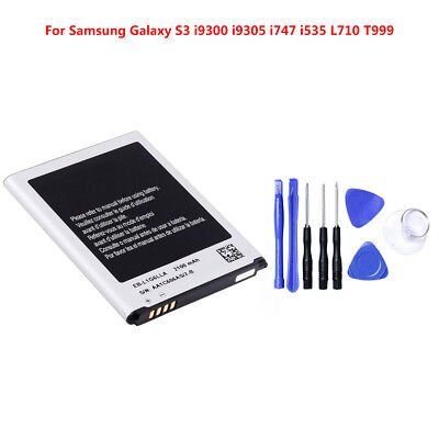 2100mAh Replacement Battery for Samsung Galaxy S3 Li-ion Internal Flex Cable