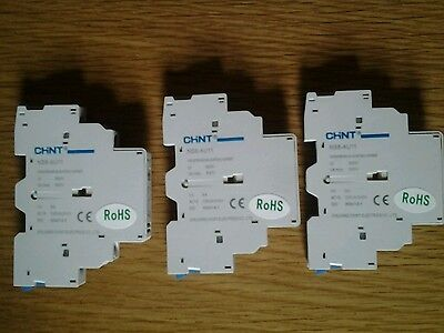 CHINT NS8-AU11 6A Auxiliary contact x 3